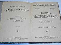 Průmysl hospodářský - Alois J. Mollenda - 1893 - Českoslovanská Matice Rolnická