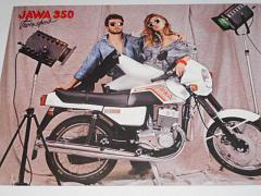 JAWA 350 typ 639 - prospekt