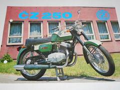 ČZ 250 typ 471 - prospekt - Motokov