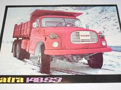 Tatra 148 S3 - třístranný sklápěč - prospekt