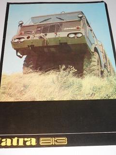 Tatra 813 8 x 8 - prospekt