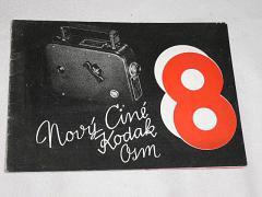 Kodak - nový Ciné Kodak 8 - 1933 - prospekt