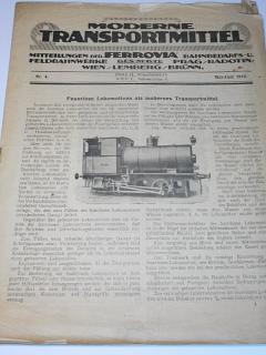 Moderne Transportmittel - Ferrovia - 4/1919