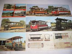 Brněnské tramvaje - 1989 - fotografie