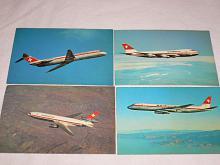Swissair - Boeing, McDonnell-Douglas - pohlednice