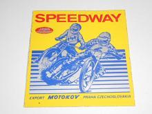 JAWA - speedway - samolepka - Motokov