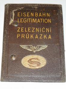 Eisenbahn Legitimation - železniční průkazka - 1939 - Protektorát Čechy a Morava - ČSD - ČMD