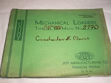 Joy Manufacturing Company - Mechanical Loaders