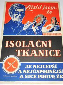 Isolační tkanice ISOLIT - leták - reklama