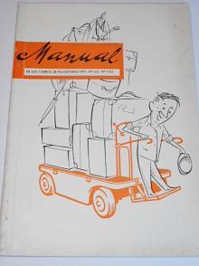 ČKD - Operating instructions for platform electric battery truck AP-522, AP-1522 - 1957