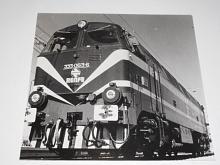 Renfe - lokomotiva - fotografie