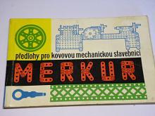 Merkur - předlohy pro kovovou mechanickou stavebnici