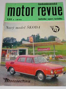 Československá motor revue - 5/1969 - Laurin a Klement, Škoda, Jawa 250. 350 Bizon