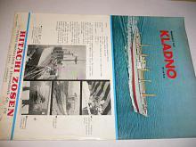 Hitachi Zosen - nákladní loď Kladno - Praha - prospekt
