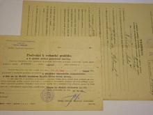 Předvolání + protokol o technické prohlídce - Ford Eifel