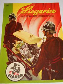 Flader - Siegerin - die bewährte Motorspritze - prospekt