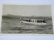 Loď - Máchovo jezero, Doksy - pohlednice