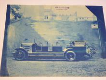 Knaust, Wien - hasičské auto - leták