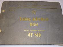 OT-810 obrnený polopásový transportér - katalog dielov