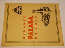 Palaba - dynamko na kolo - návod + záruční list