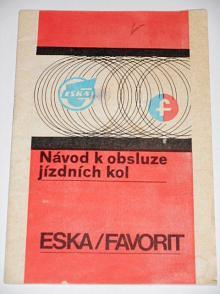 ESKA, Favorit  - návod k obsluze jízdních kol