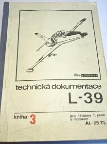 Aero Vodochody - technická dokumentace L-39 - kniha 3 - technický popis výzbroje letounu L-39 - pro letouny 1. serie s motorem AI-25 TL - 1974