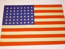 USA - vlajka - plakát