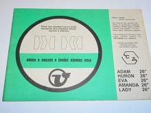Velamos - Adam, Huron, Eva, Amanda, Lady - návod k obsluze a údržbě jízdního kola
