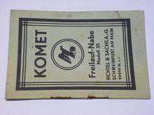 Komet - Freilauf-Nabe Modell 35 - Fichtel a Sachs