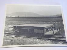 Tatra - nákladní drezína 14/52 - úzkokolejná - fotografie