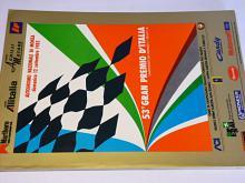 Monza - 53 gran premio d´Italia - formule 1 - F1 - program - 12. settembre 1982