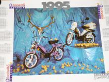 Babetta Slovakia - 1995 - plakát - kalendář