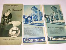 Šicí stroje Naumann - prospekty