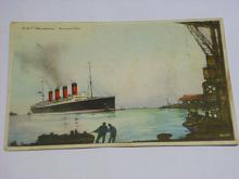 R.M.S. Mauretania Cunard Line - parník - pohlednice