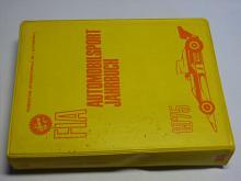FIA - Automobilsport Jahrbuch 1975