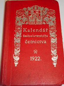 Kalendář československého četnictva pro rok 1922