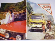 Tschechoslowakische Motor - Revue - 1986 - JAWA, Škoda