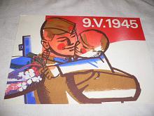 Plakát - 9. V. 1945 - Z. Filip - 1980