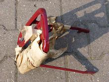 JAWA 250, 350 pérák - nosič na zadní blatník