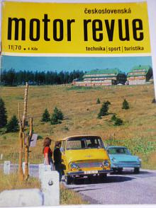 Československá motor revue - 1970 - Škoda, Jikov...