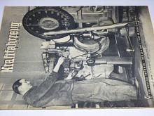 Kraftfahrzeug technik 12/1954 - časopis NDR - DDR