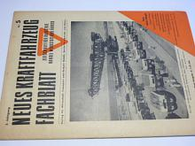 Neues Kraftfahrzeug Fachblatt - 5/1949 - časopis