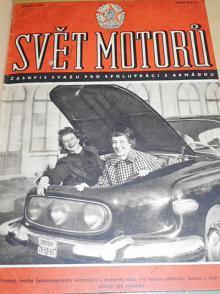 Svět motorů - časopis - 1956 - JAWA, ČZ, Tatra, Škoda...