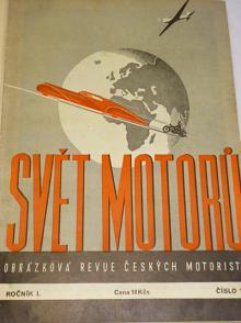 Svět motorů - 1947 - I. ročník - časopisy