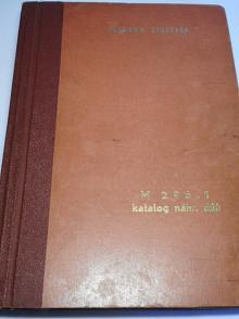 Vagónka Studénka - Tatra - M 296.1 - katalog náhradních dílů