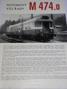 Vagónka Studénka - motorový vůz řady M 474.0 - prospekt - Tatra