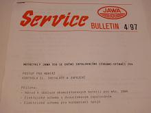 JAWA Service 4/97 - JAWA 350 se dvěmi zapalovacími cívkami