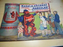 Kašel a chrapot odstraňuje, ulevuje, léčí MARSSLAD jen v původním balení - papírová reklama