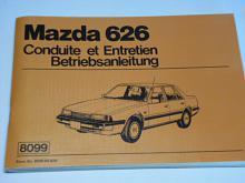 Mazda 626 - návod k obsluze - 1982