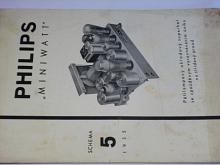 Philips Miniwatt - schema 5 - 1935